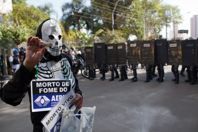 Brazil - World Cup 2014 - Sao Paulo protest opening day